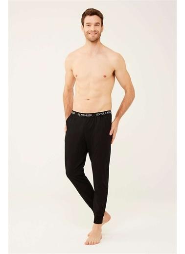 U.S. Polo Assn. U.S. Polo Assn. Erkek Siyah Pijama Altı Siyah
